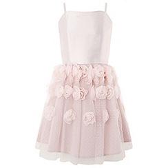 Monsoon - Girls' Pink 'Rosalie Cascade' Dress