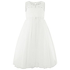 Monsoon - Girls' white 'Calla-Lilly' maxi dress