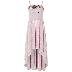 Monsoon - Pink 'Lauren' lace dress