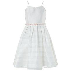 Monsoon - White 'Elowen' prom dress
