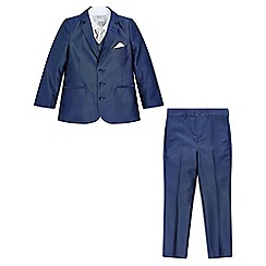 Monsoon - Boys' blue Rufus Tonic 5Pc suit set
