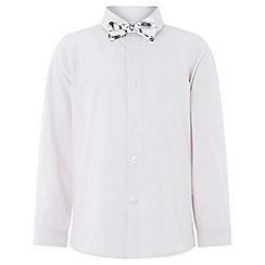 Monsoon - Boys' Pink 'Peter' Shirt