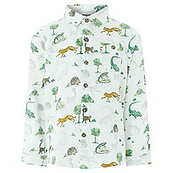 Monsoon - Boys' Multicoloured 'Lemur' Long Sleeve Shirt