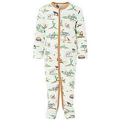 Monsoon - Boys' Multicoloured  newborn 'Albi' jungle sleepsuit