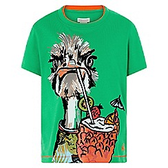 Monsoon - Green 'Ozzy Ostrich' tee