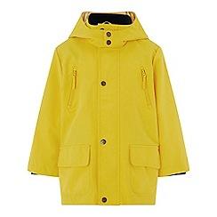 Monsoon - Boys' yellow 'Max' mac