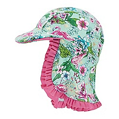 Monsoon - Girls' Blue Mini 'Fabianna' Swim Hat