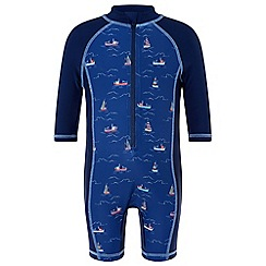 Monsoon - Baby boys' blue 'Simon' sunsafe 1PC