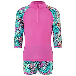 Monsoon - Green 'Cheska' sunsafe Surfsuit