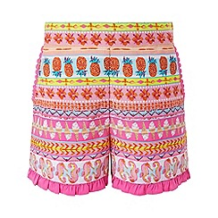 Monsoon - Pink 'Saffie' shorts
