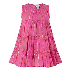 Monsoon - Pink baby sparkle dress