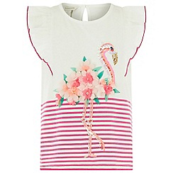 Monsoon - Pink Frankie flamingo top