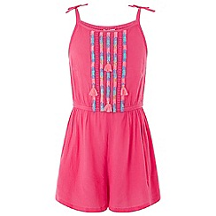 Monsoon - Pink Carrie culotte playsuit