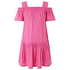 Monsoon - Pink Olivia off shoulder dress