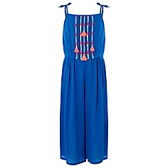 Monsoon - Blue Ella culotte jumpsuit