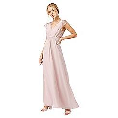 Monsoon - Pink 'Brigitte' lace maxi dress