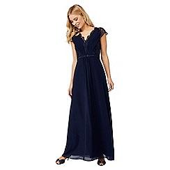 Monsoon - Blue 'Brigitte' lace maxi dress