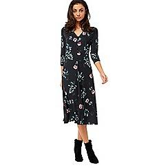 Monsoon - Black 'Thalia' midi dress