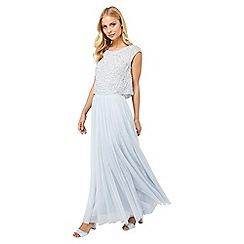 Monsoon - Blue 'Florette' tulle maxi skirt