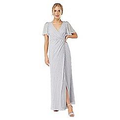 Monsoon - Silver 'Helena' embellished maxi dress