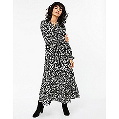 Monsoon - Black 'Amy' print maxi dress