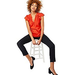 Monsoon - Red 'Paige' blouse