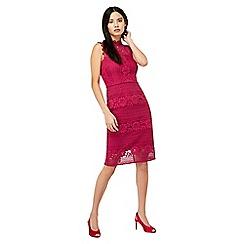 Monsoon - Purple 'Amanda' lace dress