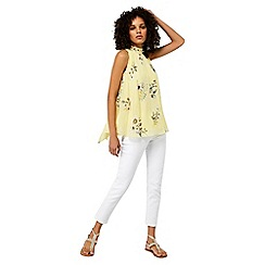 Monsoon - Yellow 'Millie' print top