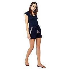 Monsoon - Blue 'Afia' Emb shorts