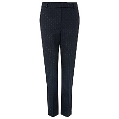 Monsoon - Blue 'Misty' spot smart trouser
