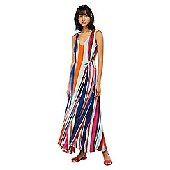 Monsoon - Multicoloured 'Eliana' stripe maxi dress