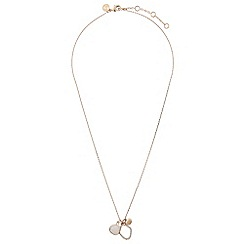Accessorize - Pink anabelle cluster necklace