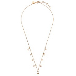 Accessorize - Metallic charmy trinket necklace
