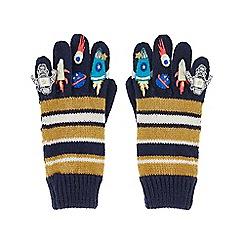 Monsoon - Boys' multicoloured space novelty gloves