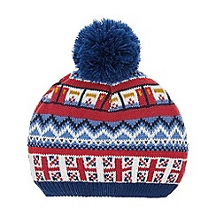 Monsoon - Boys' multicoloured sights bobble hat