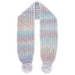 Monsoon - Girls' multicoloured Maggie rainewbornow scarf