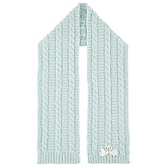 Monsoon - Girls' green Sara swan scarf