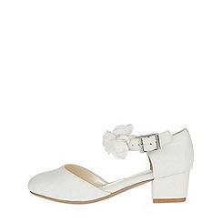 Monsoon - White 'Olivia' corsage strap 2 part Charleston
