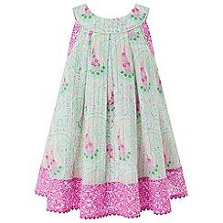 Monsoon - Blue baby 'Yvette' dress