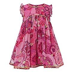 Monsoon - Pink baby 'Tyla' dress