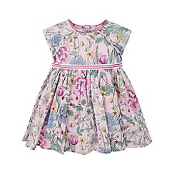 Monsoon - Baby girls' pink newborn lily dress