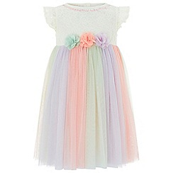 Monsoon - Baby girls' multicoloured  baby 'Natalie' dress