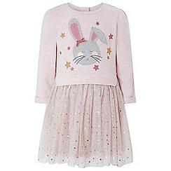 f9caf585cb1 Monsoon - Baby girls  Pink baby  Bessie  bunny disco dress