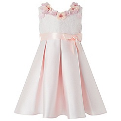 Monsoon - Baby girls' pink claudia dress