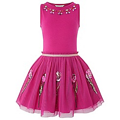 Monsoon - Pink 'Disco Tulip' dress