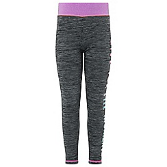 Monsoon - Girls' grey lizzie legging
