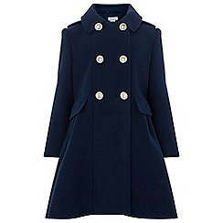 Monsoon - Girls' blue nala coat