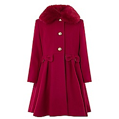 Monsoon - Girls' red victoria coat