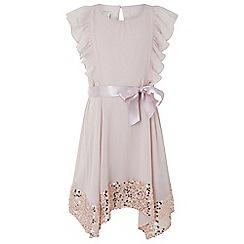 Monsoon - Pink 'Erin' sparkle dress