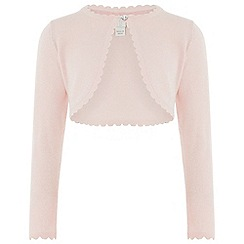 Monsoon - Girls' pink 'Niamh' Cardigan